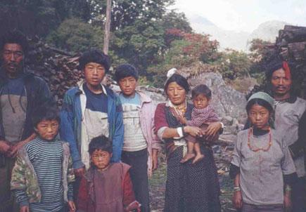 polyandry family in Nepal